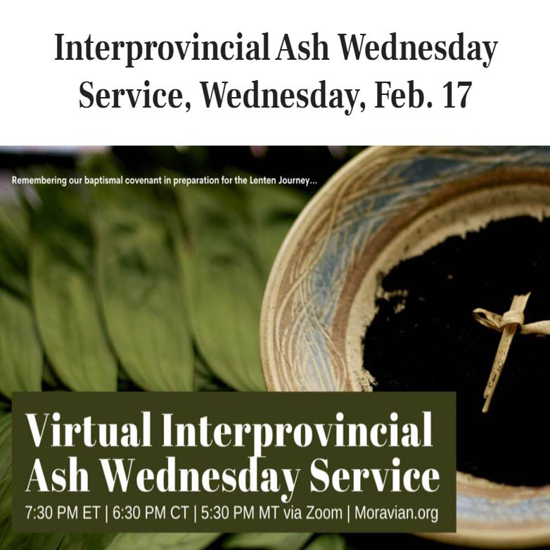 Interprovincial Ash Wednesday
